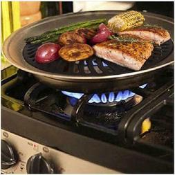 #1 Dr. Recommended Healthy Indoor Stove top Smokeless BBQ Gr