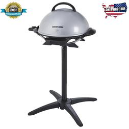 15 serving indoor outdoor electric grill silver
