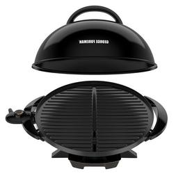 George Foreman 15 Serving Indoor/Outdoor Grill w/ Cover & Re