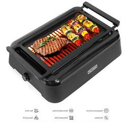 1650W X-Large Electric Smokeless Indoor Non-Stick Grill BBQ