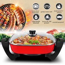 1800W 220V Multifunction Electric Non-Stick Grill Smokeless