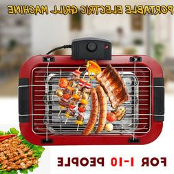 2000W Portable Electric Grill Machine Indoor Outdoor Smokele