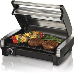 25361 electric smokeless indoor grill and searing