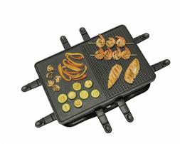 Hamilton Beach 31612-MX Raclette Indoor Grill, 200 Square In