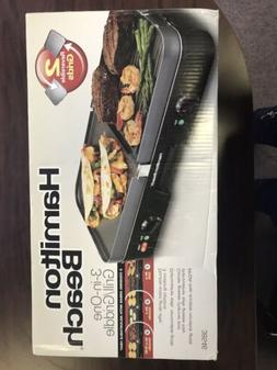 Hamilton Beach  3 in 1 Electric Smokeless Indoor Grill Gridd