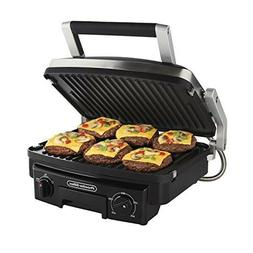 Proctor Silex 5-in-1 Indoor Countertop Grill, Griddle Panini