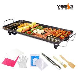 6-10 Person Large Size Electric <font><b>Grill</b></font> &