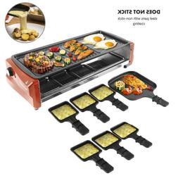 900/1600W Electric Non-Stick Grill BBQ Indoor Barbecue Plate