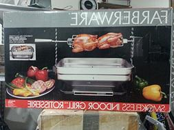 Faberware SMOKELESS INDOOR GRILL/ROTISSERIE/ Model R4400