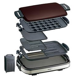 ZOJIRUSHI hot plate roast perforated + TAKOYAKI + plane + pl