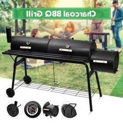 """68"""" BBQ Charcoal Grill Backyard Barbecue Cooking Outdoor Pat"""