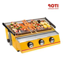 BBQ Grill Gas Portable Smokeless Camping Barbecue Cooker Out