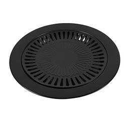 Fdit BBQ Grill Pan Non-Stick Classic Plate Cast Iron Grill P