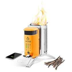 NEW! BioLite CampStove 2 Portable Wood-Burning Stove with US