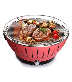 BOLUX Charcoal Barbecue Grill Lotus Outdoor Portable Quick H