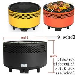 Charcoal Grill Portable BBQ Outdoor Backyard Grilling Smokel