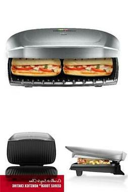 George Foreman Classic Smokeless Plate Electric Indoor Grill