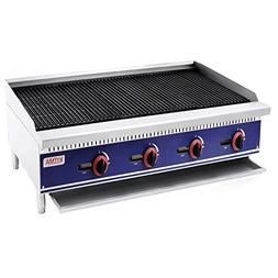 Commercial Countertop Radiant CharBroiler - KITMA 48 Inches