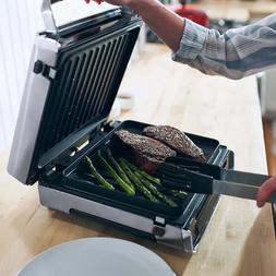 George Foreman Contact Smokeless Digital Indoor Grill Easy M