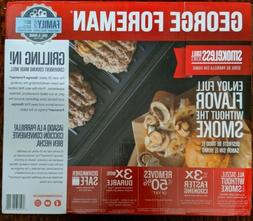 George Foreman Contact Smokeless - Ready Grill, Family Size