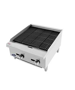 CookRite ATRC-24 Natural Gas Radiant Commercial Charbroiler