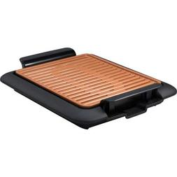 Gotham Steel 12 in x 10 in Copper Smokeless Electric Grill