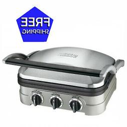 Cuisinart Stainless Steel Smokeless Multi-functional Grill