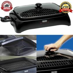 Electric Grill With Die-Cast Aluminum Non-Stick Smokeless In