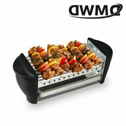 Double Layers Smokeless Electric Pan Grill BBQ Octopus Ball