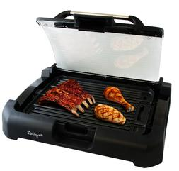 MegaChef Dual Surface Reversible Indoor Grill and Griddle wi