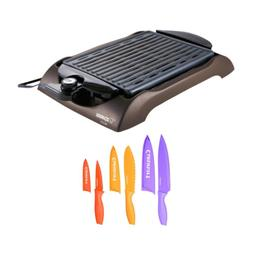 Zojirushi EB-CC15 Indoor Electric Grill with 6-Piece Nonstic