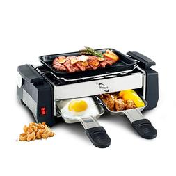 Electric BBQ <font><b>Grill</b></font> 1000W Travel Mini <fo