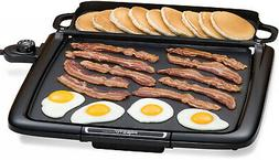 Electric Countertop Griddle Indoor BBQ Nonstick Cooking Smok
