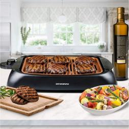 Electric Grill BBQ Indoor Outdoor Smokeless Griddle Compact