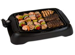 Electric Grill BBQ Indoor Smokeless Griddle Portable Small C