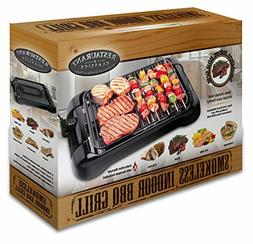 electric grill bbq indoor smokeless griddle portable