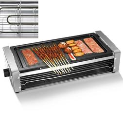 Electric Grill Outdoor And Indoor Smokeless Easy-to-Clean No
