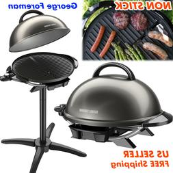 Electric Grill Outdoor Griddle Indoor BBQ Griller Smokeless