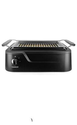 electric grill smokeless nonstick bbq indoor portable