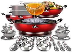 NutriGrill Electric Grill and Steamer: Healthy Smokeless Coo