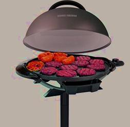 electric indoor grill cover included