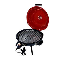Electric Indoor Grill Cover Included, Red Top Best BBQ Smoke