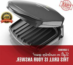 Electric Indoor Grill Smokeless Panini Maker-Nonstick Sandwi