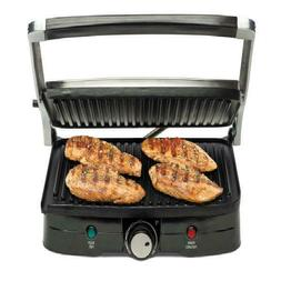 Electric Indoor Grill Smokeless Stainless Steel Portable BBQ