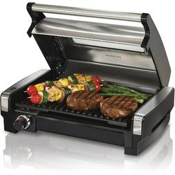 Hamilton Beach Electric Indoor Searing Grill with Removable