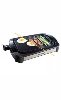 Magicook Electric Reversible Grill Griddle with Removable No