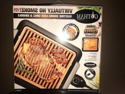 GOTHAM STEEL Electric Smoke-less Grill and Griddle