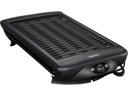 Electric Smokeless Grill Non-Stick Adjustable Temperature Co