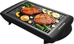 Electric Smokeless Indoor Barbecue Grill Classic Plate Nonst