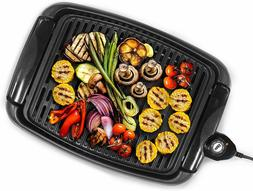 Electric Smokeless Indoor Grill Large Non-Stick Cooking Surf
